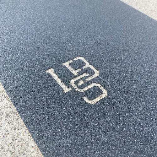 LONG BEACH SKATE CO. LBS DIE CUT GRIPTAPE