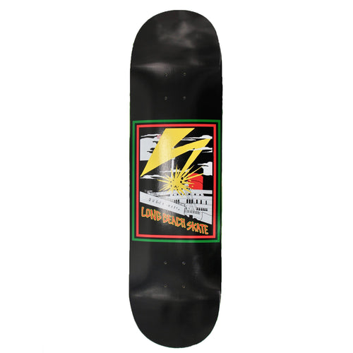 Long Beach Skate Co. Bad Queen Mary Black Red Yellow Green 7.75