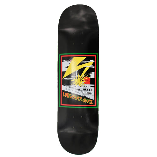 Long Beach Skate Co. Bad Queen Mary Black Red Yellow Green 8.25