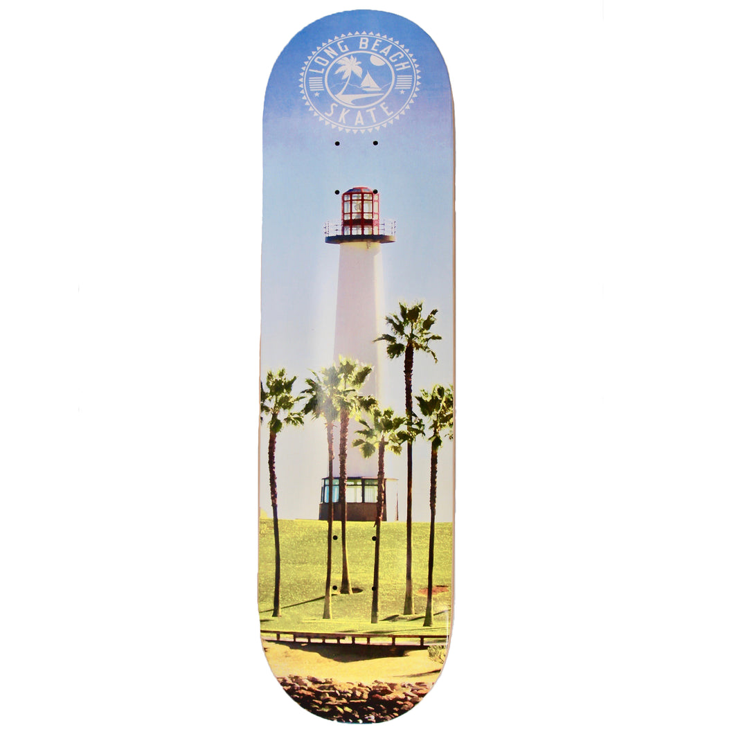 Long Beach Skate Co. Lighthouse Photo Series  7.75