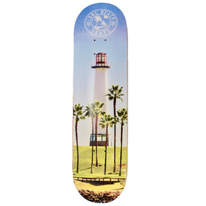 "Long Beach Skate Co. Lighthouse Photo Series  8.5""  Skateboard Deck"