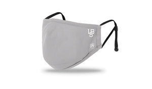 "Long Beach Skate CO ""LBS ICON"" Richardson  Grey Medium / Large Face Mask"