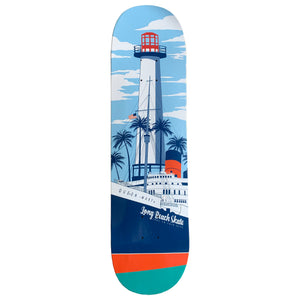 "Long Beach Skate Co. Light Mary Remix 8.0"" Deck"