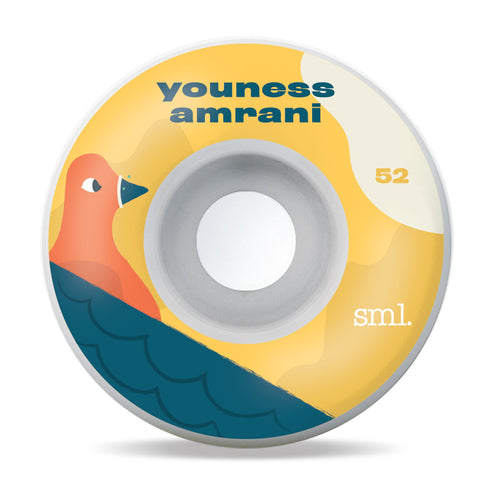 Small Wheels TOONIES Youness Amrani OG Wide 99a 52mm Wheels
