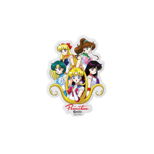 Primitive Team Sailor Moon Sticker