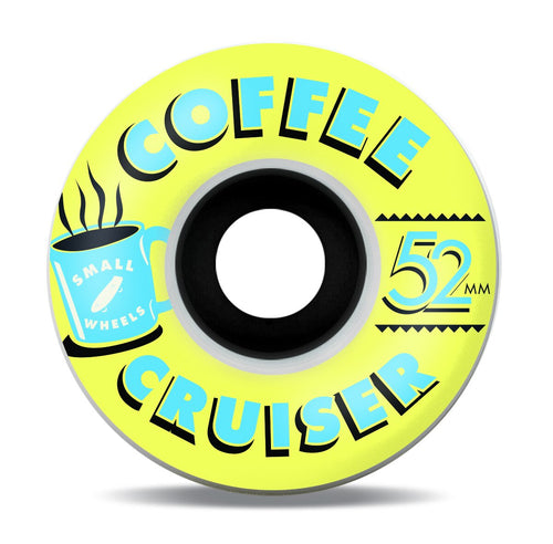 Small Wheels Coffee Cruisers (Gold Hour) 78a 52mm Wheels