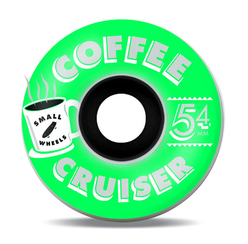 Small Wheels Coffee Cruisers Cringle 78a 54mm Wheels
