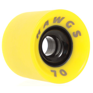 HAWGS Supreme Hawgs Flat Banana Stoneground 70mm 78a CRUISER WHEELS