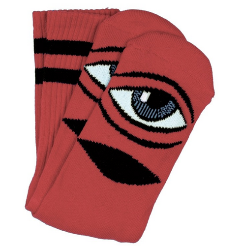 Toy Machine Sect Eye Clay Crew Socks