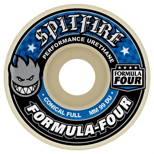 Spitfire Formula Four 99a Conical Full Formula Four (Blue Print) 56Mm Wheels