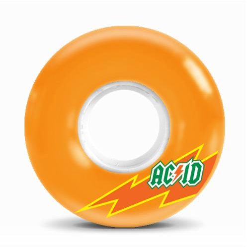Acid Skaterade 86A 56mm Orange Cruiser Wheels