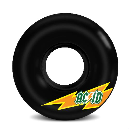 Acid Skaterade 86A 56mm Black Cruiser Wheels