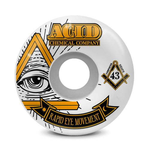 Acid Rem Pyramid 99A 55mm Orange Street Wheels