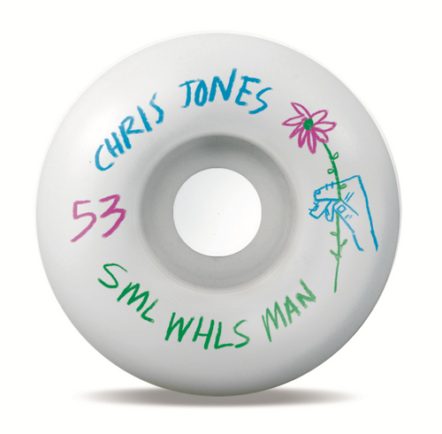 Small Wheels Chris Jones Pencil Pusher OG Wide 99a 53mm Wheels