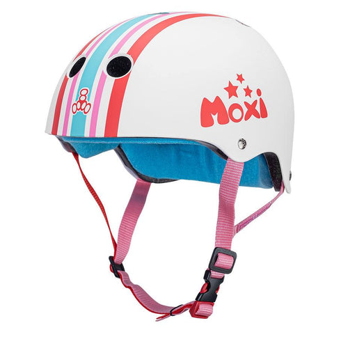 TRIPLE EIGHT CERTIFIED SWEATSAVER MOXI STRIPEY S/M HELMET