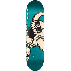 TOY MACHINE VICE DEAD MONSTER TURQUOISE 8.0 DECK