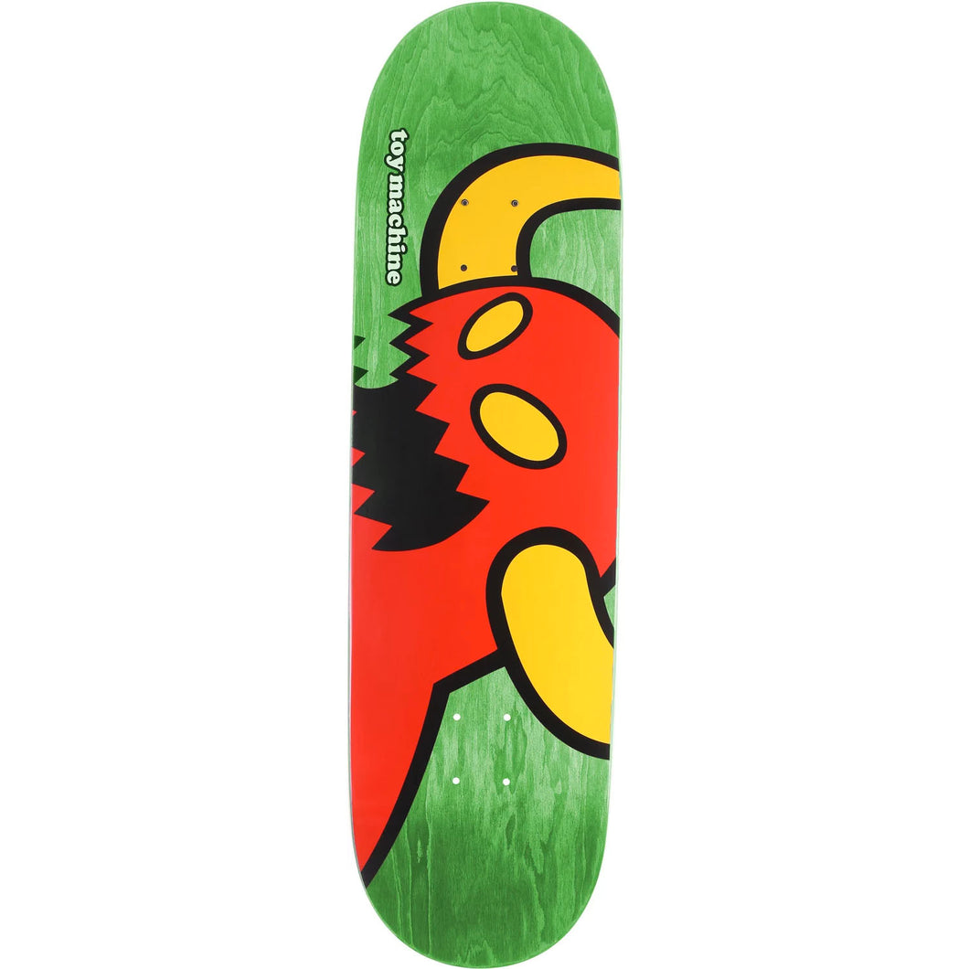 TOY MACHINE VICE MONSTER GREEN 7.38 DECK