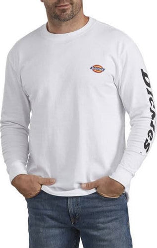Dickies Graphic Heavyweight Longsleeve White Shirt