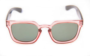 HAPPY HOUR WOLF PUP GLICK ROSE BLACK SUNGLASSES