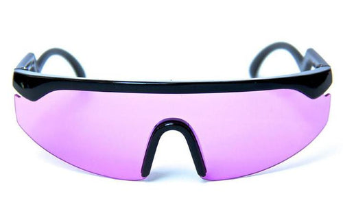 Happy Hour Accellerator Black & Purple Sunglasses