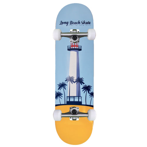 LB Skate Lighthouse Remix Series V1 Blue & Gold 7.5