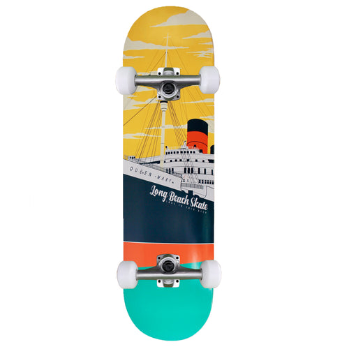 LB Skate Queen Mary Remix Series V1 Gold & Teal 7.75