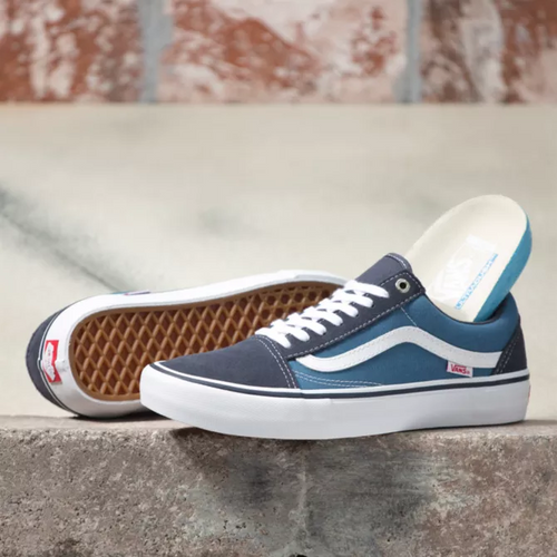 Vans Old Skool Pro Navy Stv Navy White 0NS Shoes