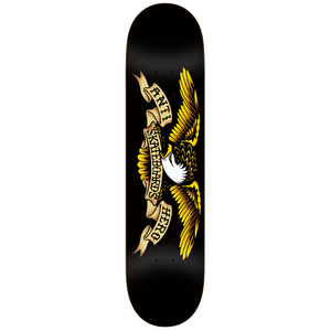 "Anti Hero Classic Eagle Black 8.12"" Deck"