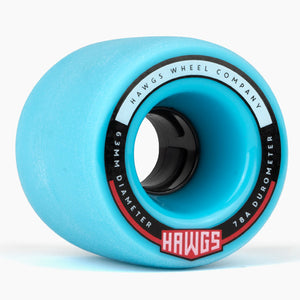 Hawgs Fatty Hawgs Blue Stoneground 63Mm 78A Cruiser Wheels