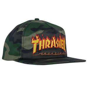 Thrasher Flame Snapback Hat