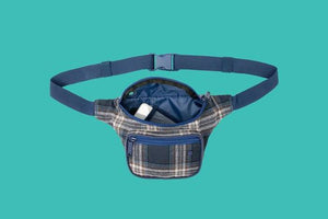 BUMBAG FLANDERS DELUXE HIP PACK - NAVY / PINK BAG