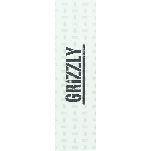 Grizzly Stamp Clear Griptape