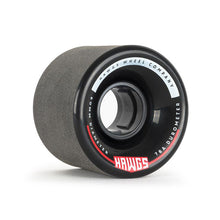 Load image into Gallery viewer, HAWGS CHUBBY BLACK STONE GROUND 78A 60MM CRUISER WHEELS