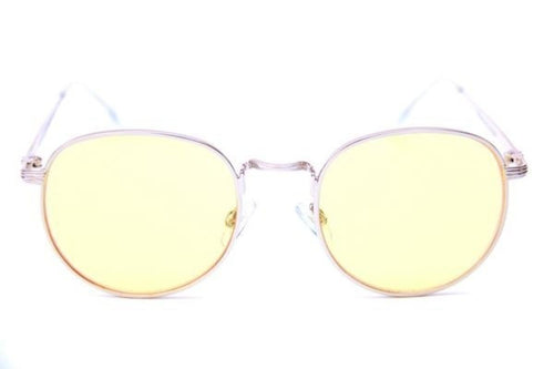 Happy Hour Holidaze Gold & Yellow Sunglasses