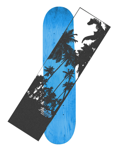 Holiday Oside Clear Griptape