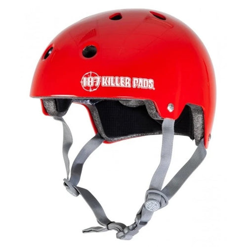 187 KILLER PADS Certified Red Sm/Med Helmet