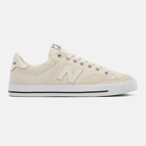 New Balance Numeric 212 Off White Red Shoes