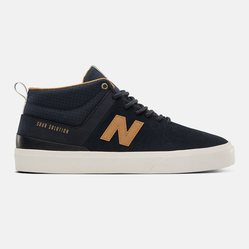 New Balance Numeric 379 Mid Navy Brown Sour Solution Shoes