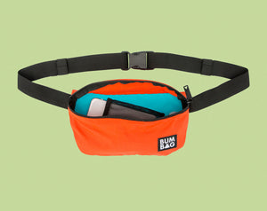BUMBAG SQUIRREL POUCH HIP PACK - BURNT ORANGE BAG
