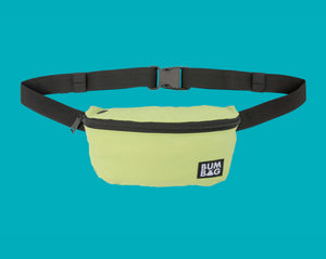 BUMBAG SQUIRREL POUCH HIP PACK - LIME GREEN BAG