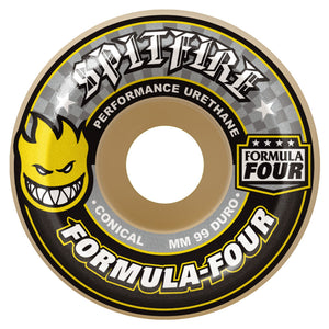 Spitfire Formula Four Conical 99A 52Mm Wheels