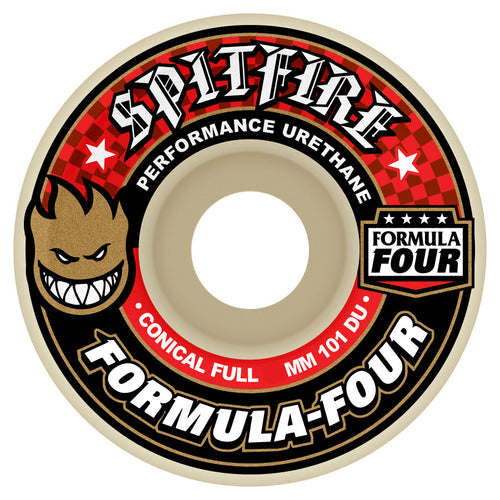 Spitfire Formula Four Conical Full 101A 53Mm Wheels