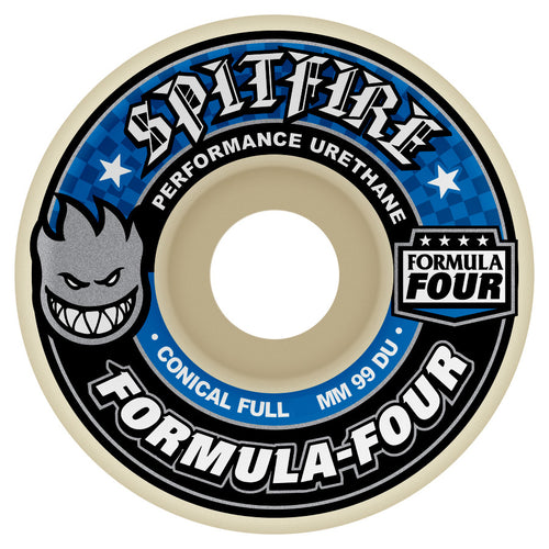 Spitfire Formula Four Conical Full 99A 53Mm Wheels