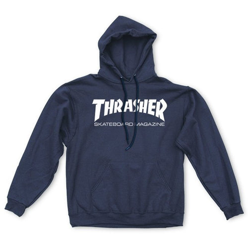Thrasher Skate Mag Navy Hooded Sweatshirt
