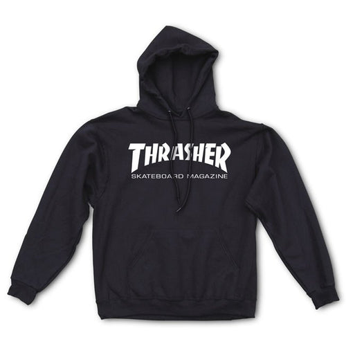 Thrasher Skate Mag Black Hooded Sweatshirt