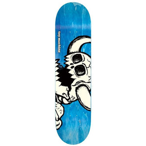 "Toy Machine Vice Dead Monster Blue 8.5"" Skateboard Deck"