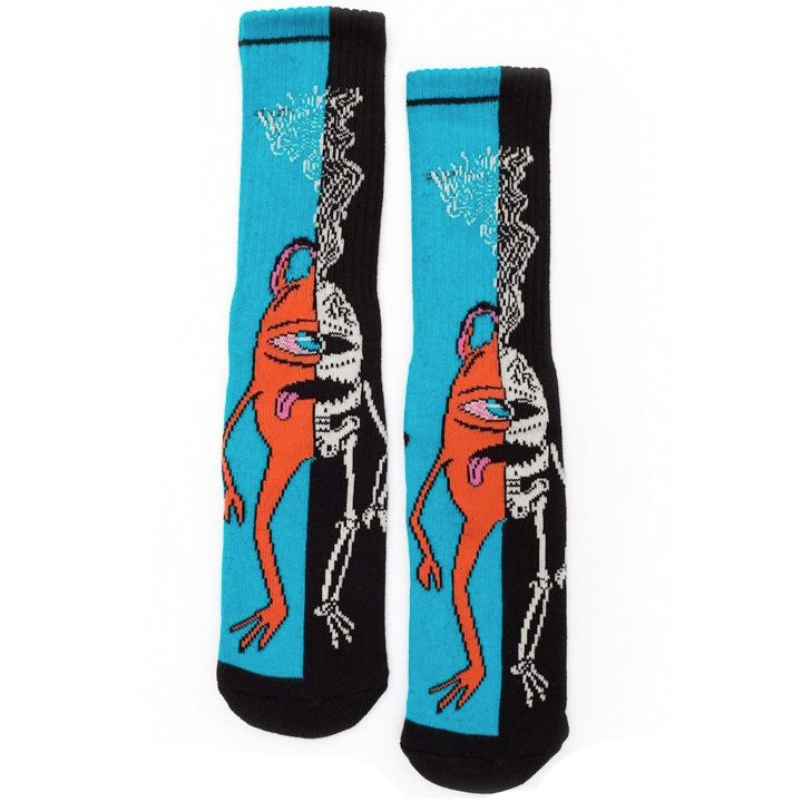 TOY MACHINE SPLIT CREW SOCKS