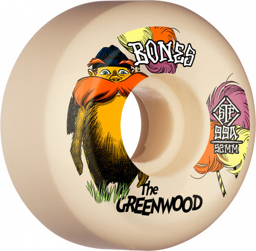 BONES STF V5 THE GREENWOOD 99A 52MM WHEELS
