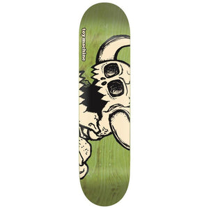 "Toy Machine Vice Dead Monster Green 8.5"" Skateboard Deck"