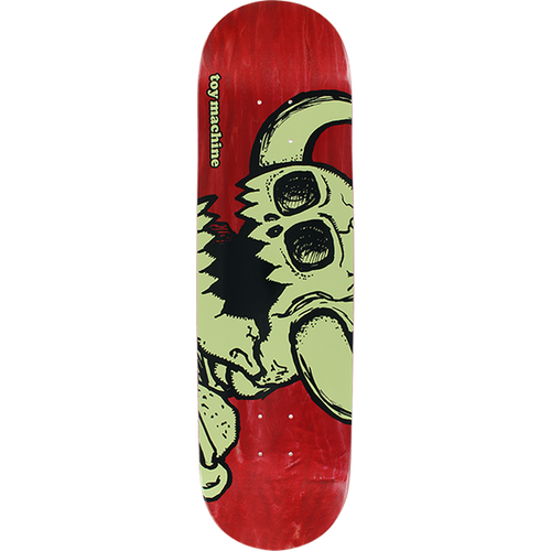 TOY MACHINE VICE DEAD MONSTER DEEP RED 8.0 DECK
